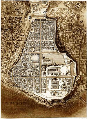 Selinunte - Plan of the ancient city