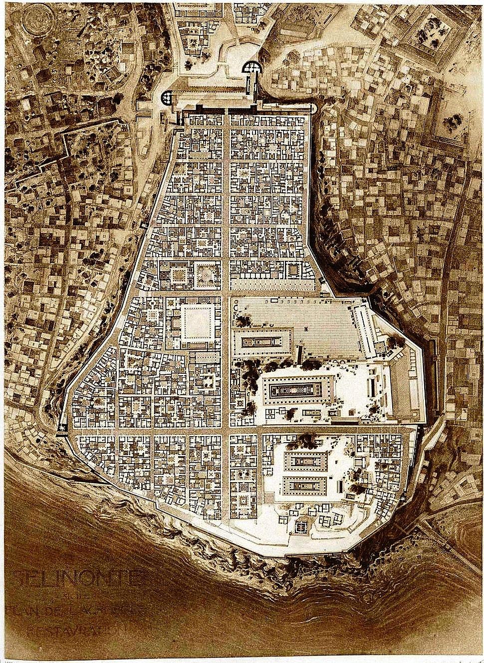 Stadtplanung Selinunt