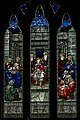 Stained glass window, St Mary's church, Newent (20310873665).jpg