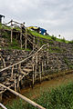 Staircase to Sidoarjo Mudflow viewing area.jpg