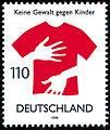 Stamp Germany 1998 MiNr2013 Keine Gewalt gegen Kinder.jpg
