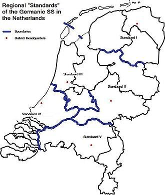 West Frisia - Image: Standaarden germaanse ss