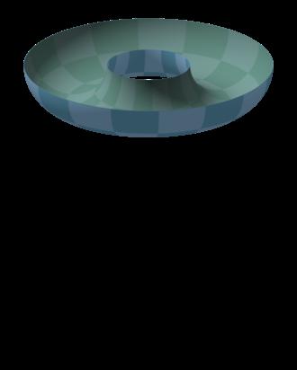 Torus - Image: Standard torus ring