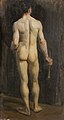Standing Nude with a Paintbrush (Hospitalfield Centre for Art & Culture).jpg