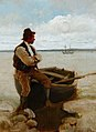 Stanhope Forbes A Ferryman at Flushing.jpg