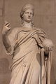 Statue de Junon, Louvre, Ma 485, trois quarts.JPG