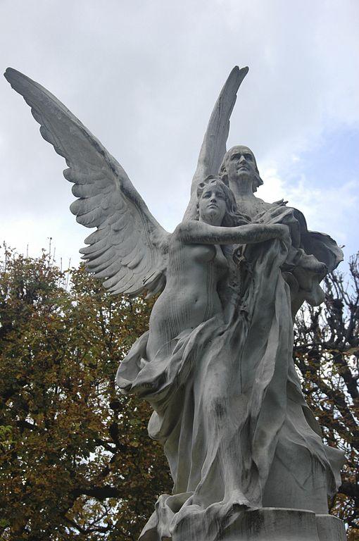 Fichier statue de leconte de lisle par denys puech au for Aller au jardin du luxembourg