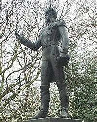 Estatua de Simón Bolívar en Belgrave Square, Londres