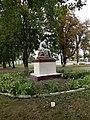 Statue of Taras Shevchenko in Shevchenkove, Shevchenkove Raion 2019 by Venzz 05.jpg