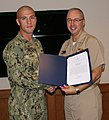 Steelworker 2nd Class (SCW) Jared Byrd Receives Letter of Commendation (8556523740).jpg