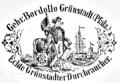 Steingut Grünstadt Pfeifenreklame 1908.png