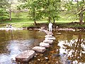 Stepping Stones across the Wharfe - geograph.org.uk - 47473.jpg