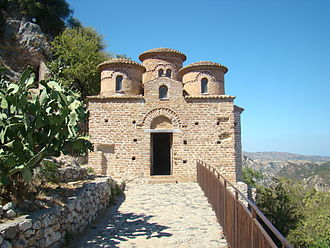 Stilo - The Cattolica of Stilo, a Byzantine-style church from the 9th century.