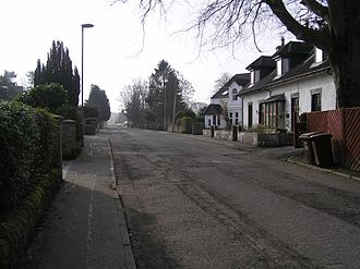 Luggiebank - Image: Stirling Road Luggiebank 20 3 09