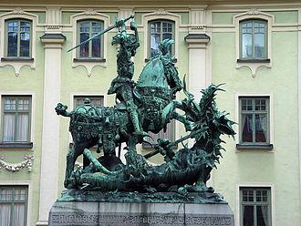 Österlånggatan - Saint George and the Dragon.