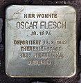 Stolperstein Duisburger Str 19 (Wilmd) Oscar Flesch.jpg