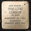 Stolperstein Essener Str 9 (Moabi) Hans Louis Lehmann.jpg