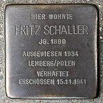 Stolperstein Fritz Schaller Müllheim.jpg