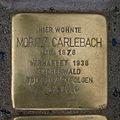 Stolperstein Gaußstraße 16 Moritz Carlebach.jpg
