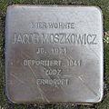 Stolperstein Jacob Moszkowicz August-Kirchner-Straße 35 Ahlen.nnw.jpg