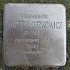 Stolperstein für Jacob Moszkowicz