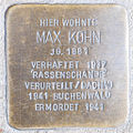 Stolperstein Max Kohn by 2eight 3SC1493.jpg