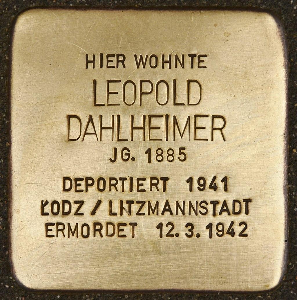 Stolperstein für Leopold Dahlheimer (Miltenberg).jpg