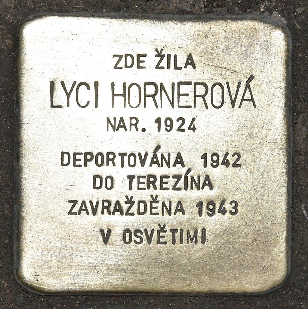 Stolperstein für Lyci Hornerova.JPG