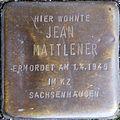 Stolpersteine Köln, Jean Mattlener (Siegburger Straße 300).jpg