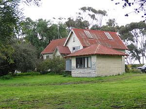 Stonehaven, Victoria - Former school at Stonehaven