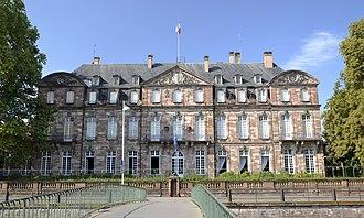 Hôtel de Klinglin - Façade on the Ill