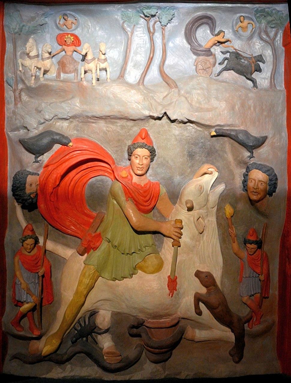 Strasbourg-Koenigshoffen, Second-Century Mithraic Relief, Reconstruction ca. 140 CE–ca. 160 CE