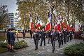 Strasbourg nécropole nationale de Cronenbourg cérémonie 1er novembre 2013 24.jpg