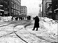 Street scene in downtown after a snowfall, ca 1916 (SEATTLE 1139).jpg