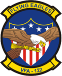 Strike Fighter Squadron 122 (US Navy) insignia 1999.png