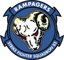 Strike Fighter Squadron 83 (US Navy) insignia 2015.png