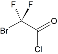 Structure of bromodifluoroacetyl chloride.png