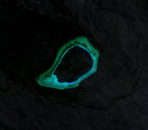 Subi Reef - Landsat 7 Image (April 2000)