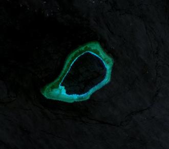 Subi Reef - Landsat 7 Image (April 2000)