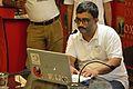 Sujay Chandra - Presentation Session - Wikilearnopedia - Oxford Bookstore - Kolkata 2015-08-23 3675.JPG
