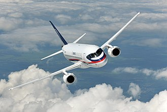 Sukhoi Superjet 100 - Test flights