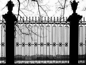 Summer Garden - The railing of Summer Garden