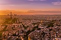 Sunset over Paris 2, France August 2013.jpg
