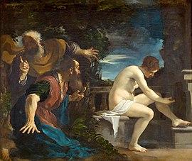 Susana y los Viejos,Guercino