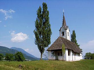 Vrba, Žirovnica - Saint Mark's Church