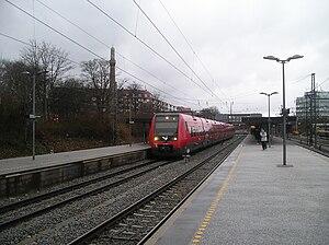 Svanemøllen station - Image: Svanemøllen Station 04