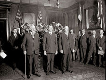 Swearing in of Secretary Dwight Davis.jpg