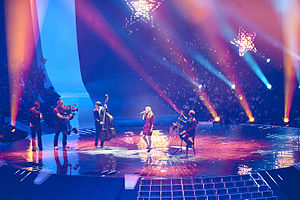 Anna Rossinelli - Anna Rossinelli at Eurovision 2011