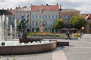 Szombathey Main Square