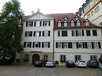 Friedrich Hölderlin - Hölderlin attended the Tübinger Stift (pictured) from 1788 to 1793.